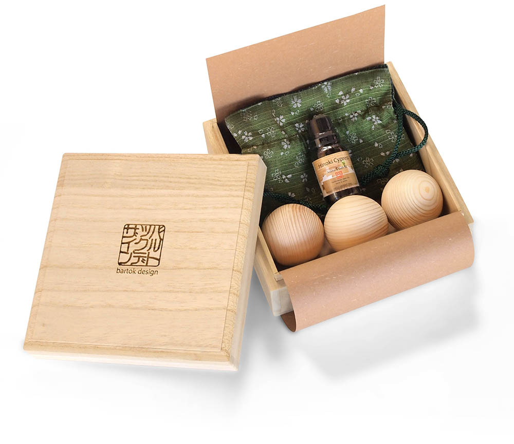 hinoki oil set