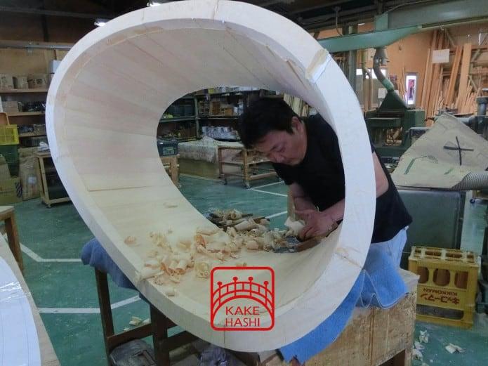 japanese soaking tub kakehashi