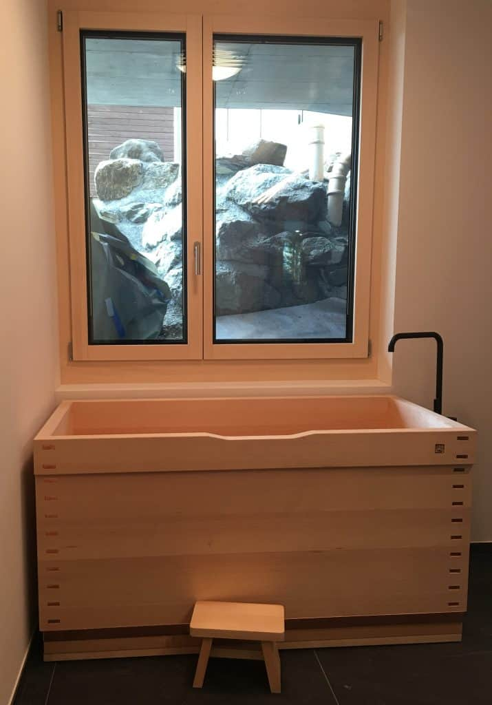 Bartok design Japanese soaking tub